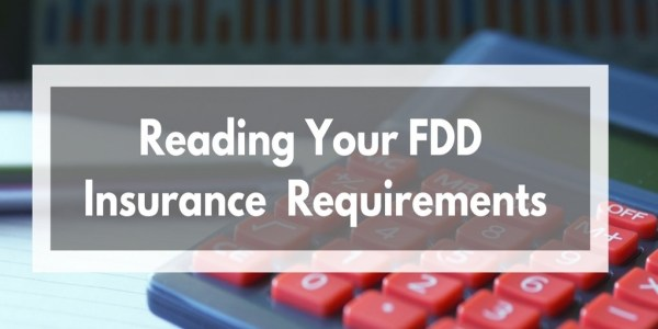 Reading your Franchise Disclosure Document Insurance Requirements